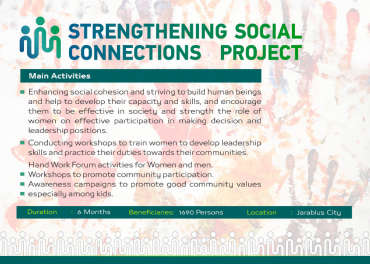 Strengthening Social Connections
